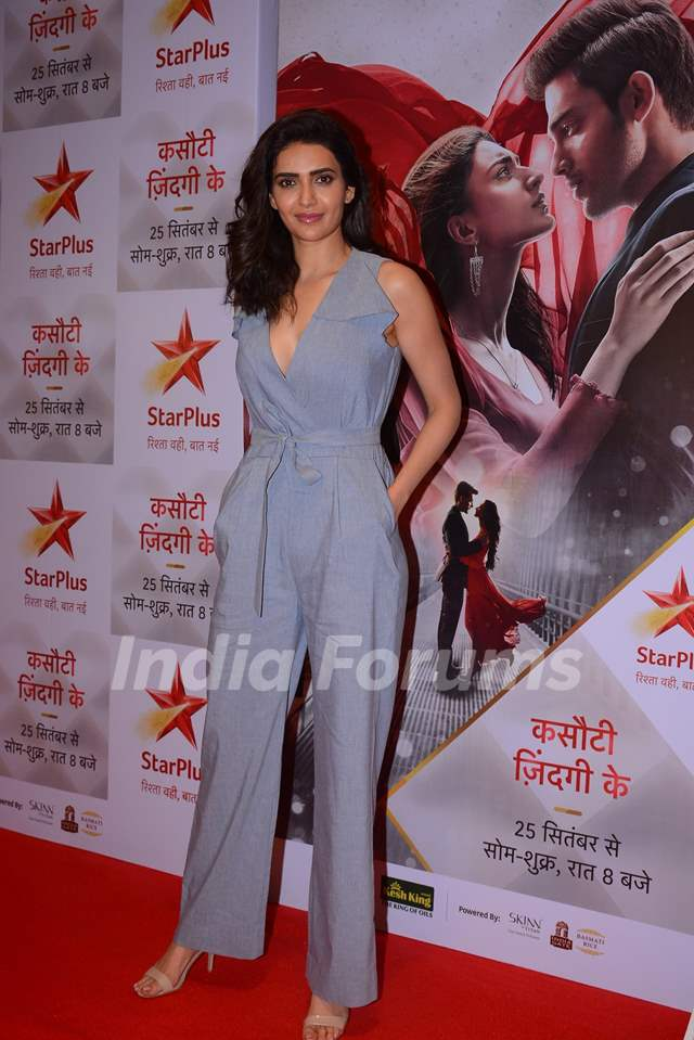 Karishma Tanna at the special screening of Kasautii Zindagii Kay 2