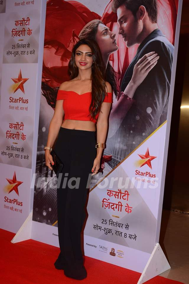 Pooja Banerjee at the special screening of Kasautii Zindagii Kay 2