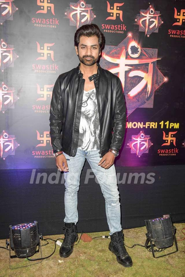 Manish Goel at Siddharth Kumar Tewary show Tantra Launch Party