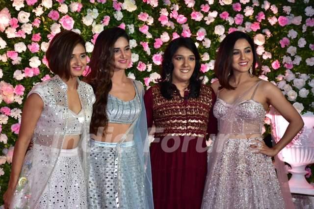 The Mohan Sisters at Kapil Sharma and Ginni Chatrath's Reception, Mumbai