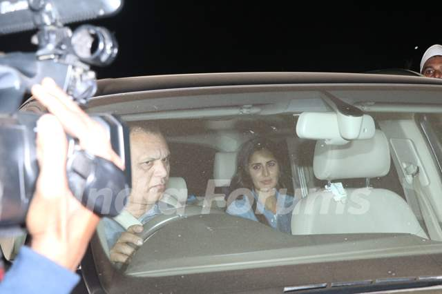 Katrina Kaif at Salman Khan's birthday bash