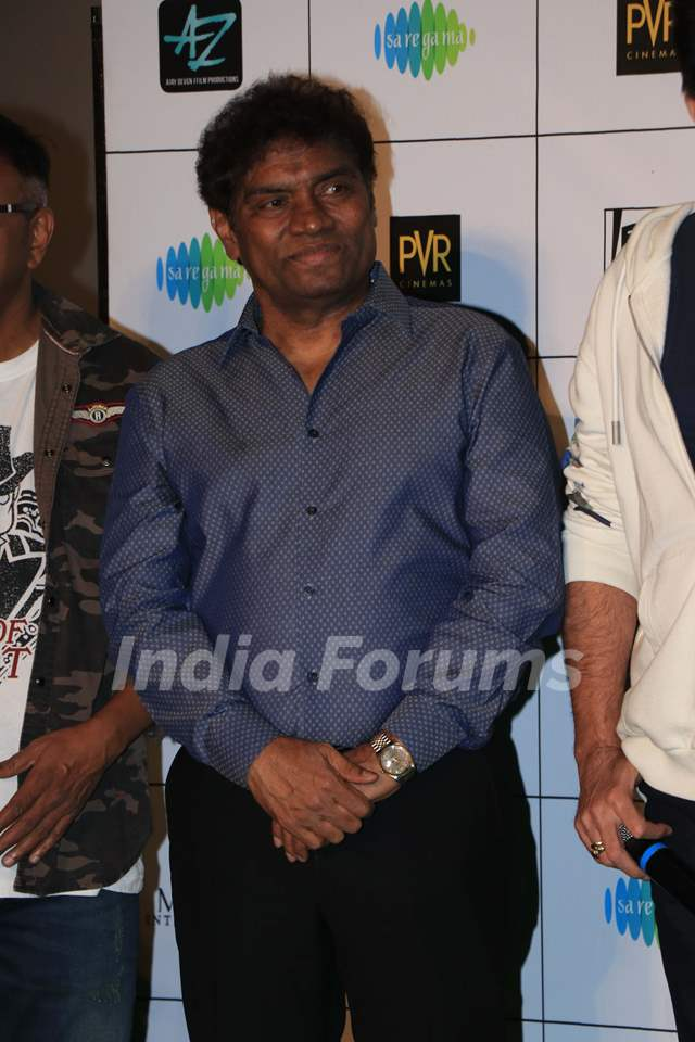 Johny Lever at the trailer launch of 'Total Dhamaal'