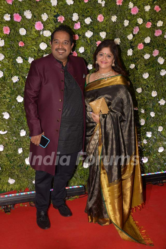 Shankar Mahadevan at Amit Thackeray's reception