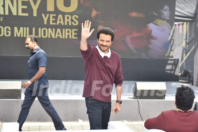 Anil Kapoor spotted at Slumdog Millionaire 10 year celebration