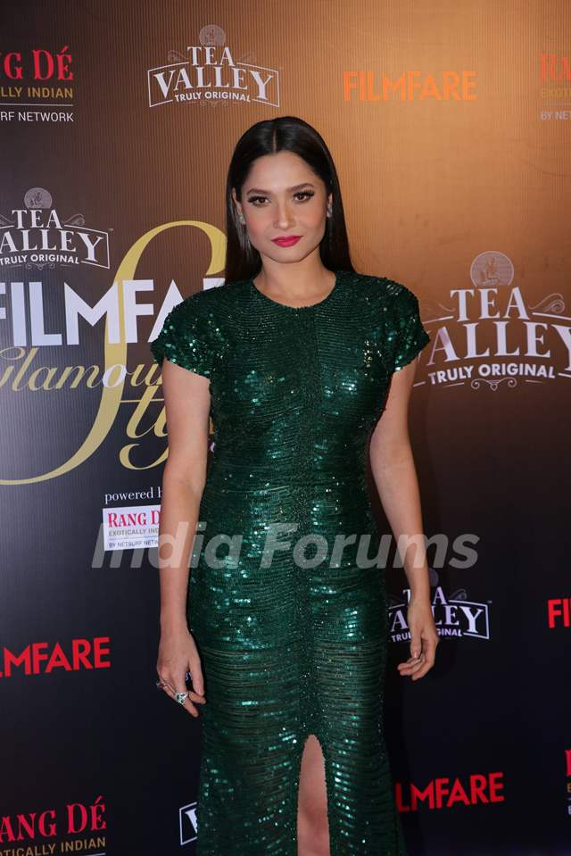 Ankita Lokhande attend Filmfare Awards