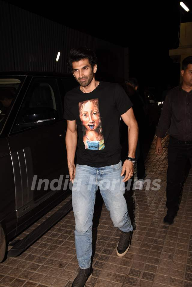 Bollywood celebrities at the special screening of Kalank!