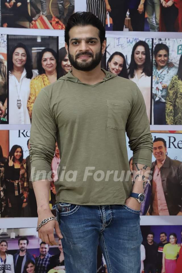 Karan Patel snapped at the launch of Reel or Real season 3
