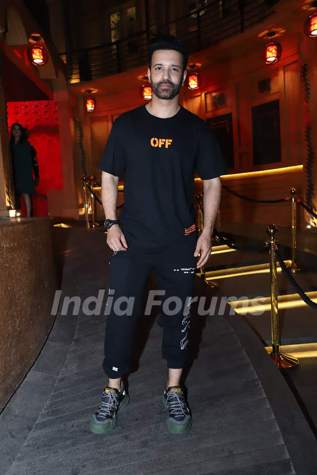 Aamir Ali Snapped at Anita Hassanandani and Pearl Puri's song launch