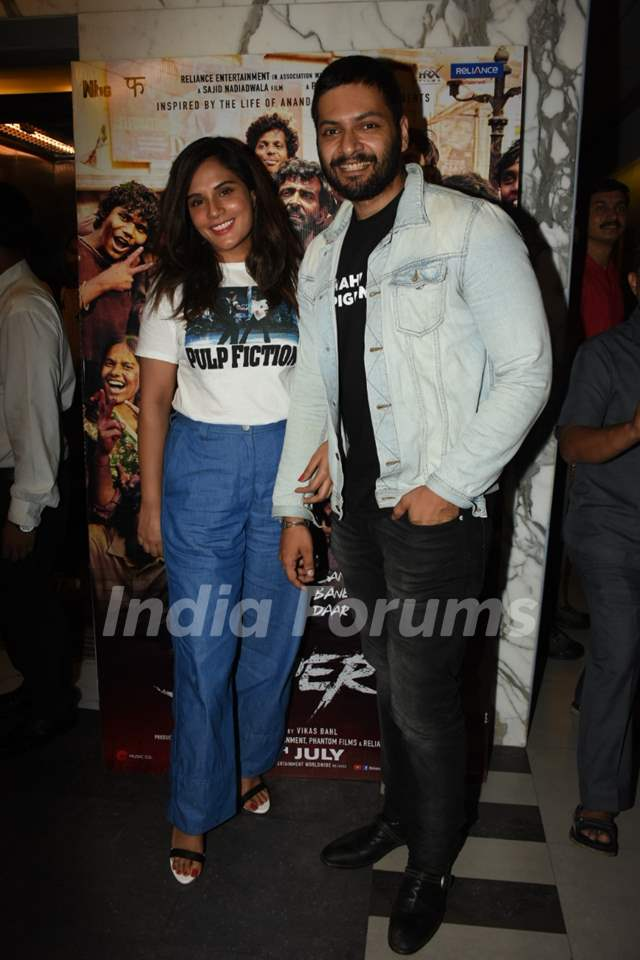 Bollywood celebrities at the special screening of Super 30!