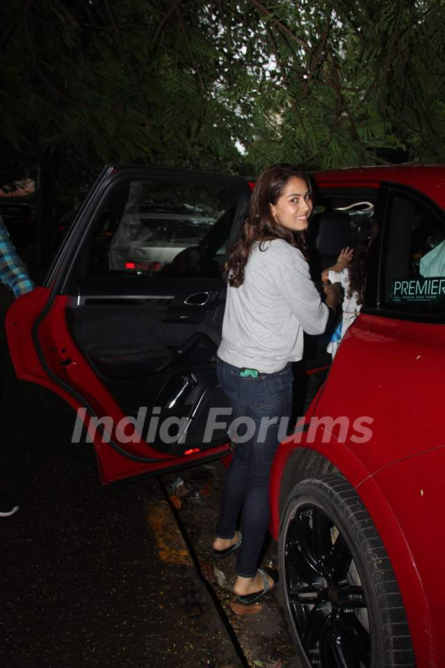 Mira Rajput Kapoor spotted around the town!