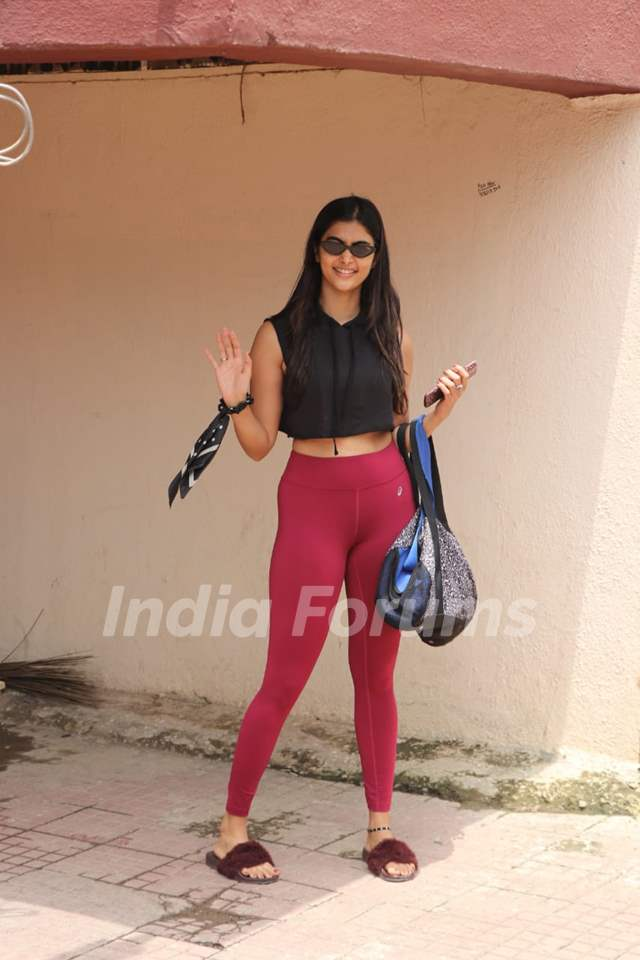 Pooja Hegde spotted around the town!