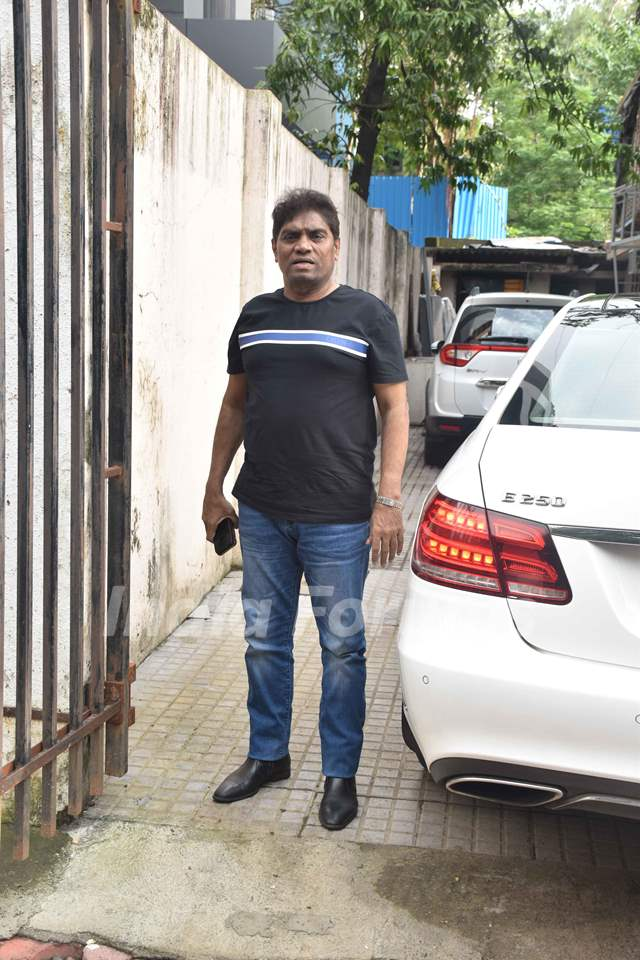 Johny Lever was spotted around the town