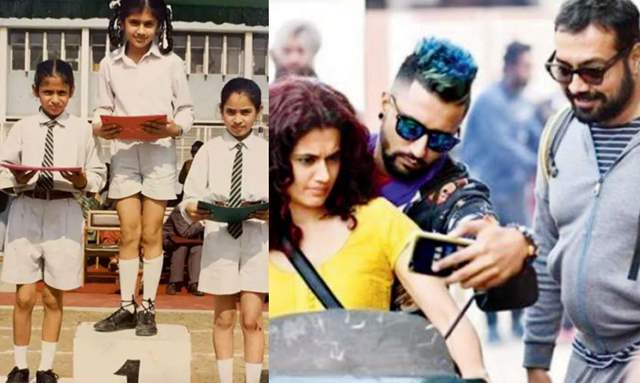 Vicky Kaushal & Anurag Kashyap Crack Up over Taapsee's throwback picture