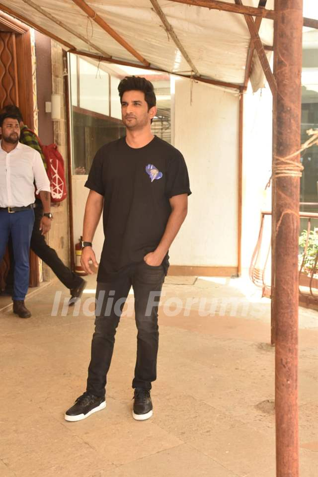 Sushant Singh Rajput at the promotions of Chhichhore!