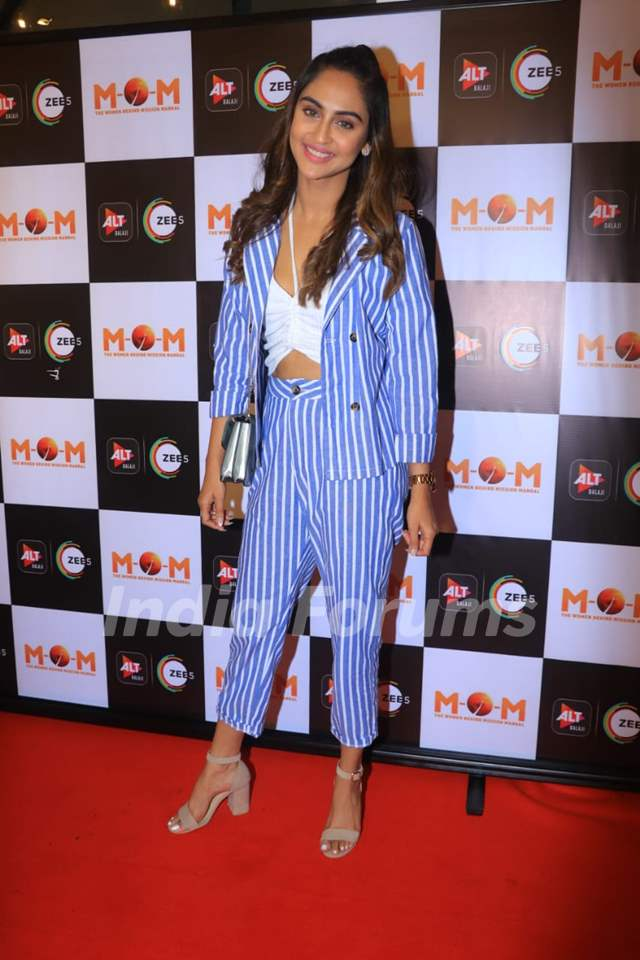 krystle d'souza at the screening of MOM