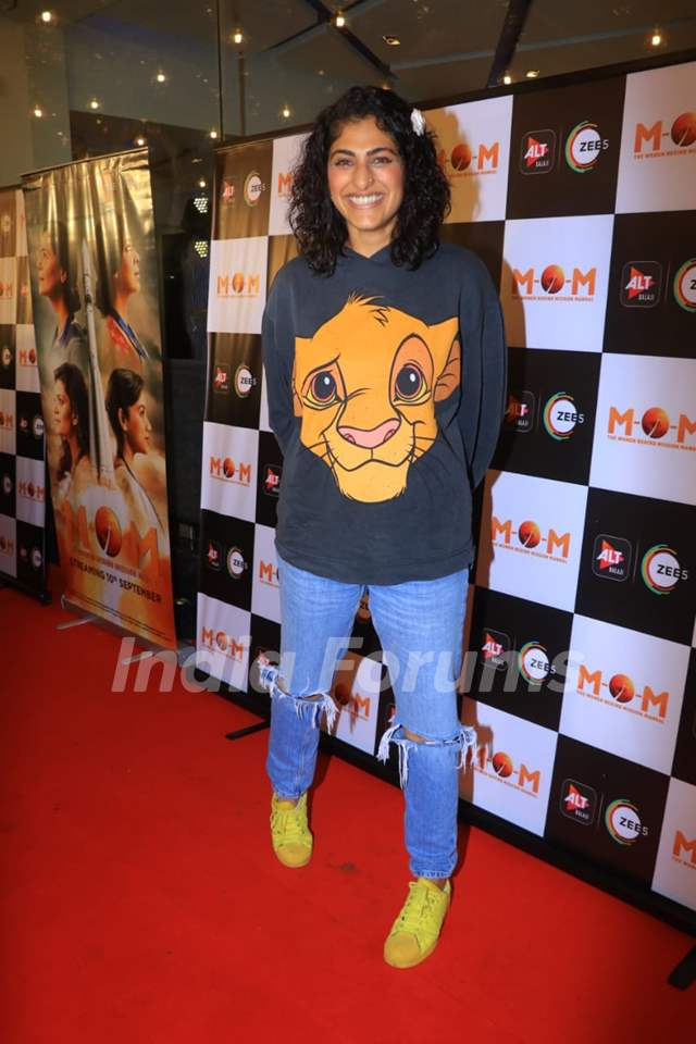 Kubra Sait at the screening of MOM