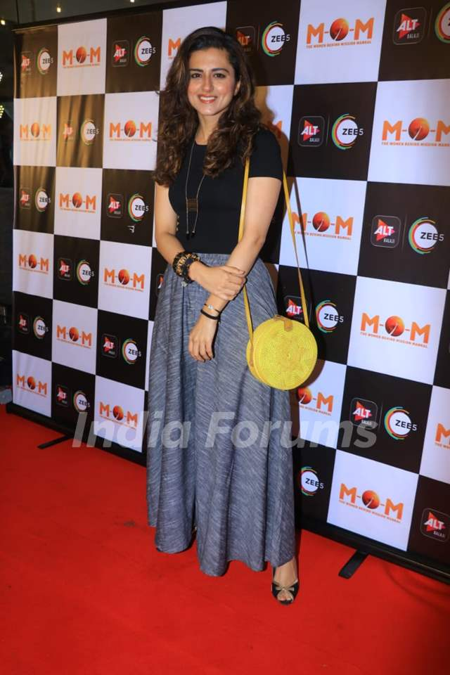 Ridhi Dogra at the screening of MOM