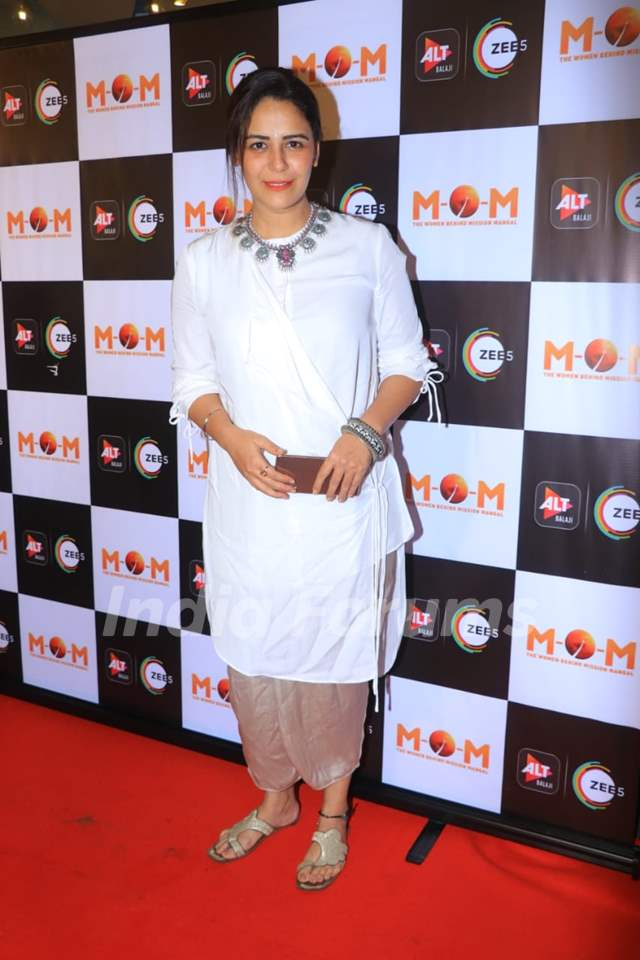 Mona Singh at the screening of MOM