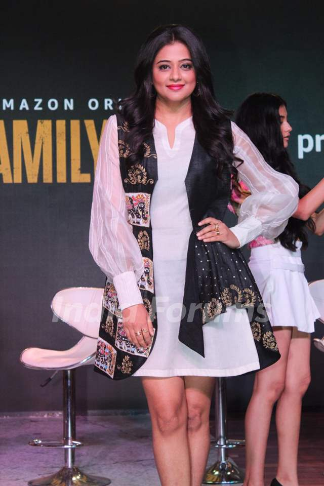 Celebrities at the press conference of upcoming Amazon Prime series - The Family Man