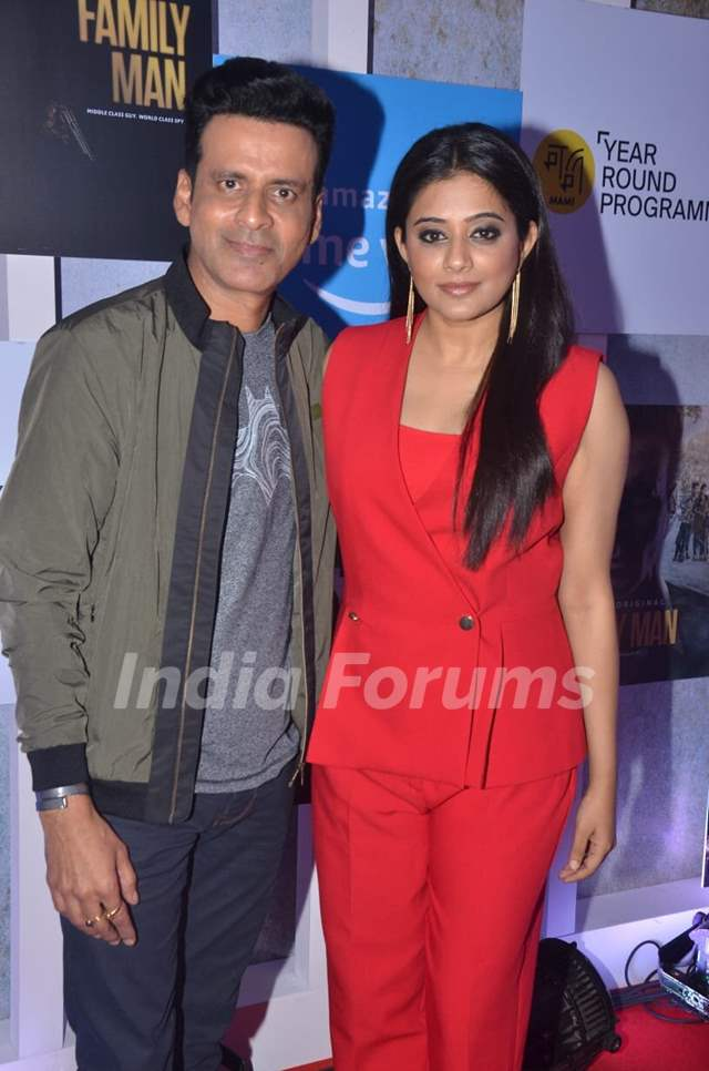 Manoj Bajpayee and Priyamani