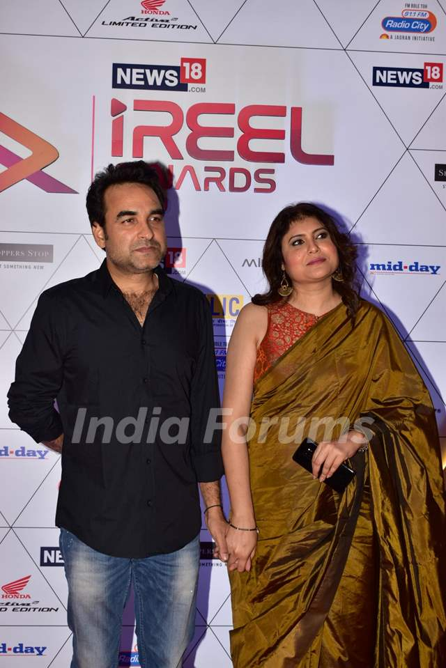 Pankaj Tripathi at iReel Awards 2019!