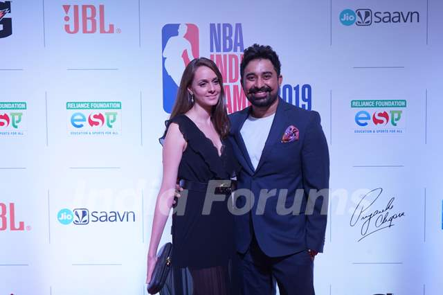 Celebrities walk the Red Carpet at NBA India Games 2019' Welcome Reception!