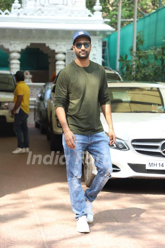Vicky Kaushal papped around the town