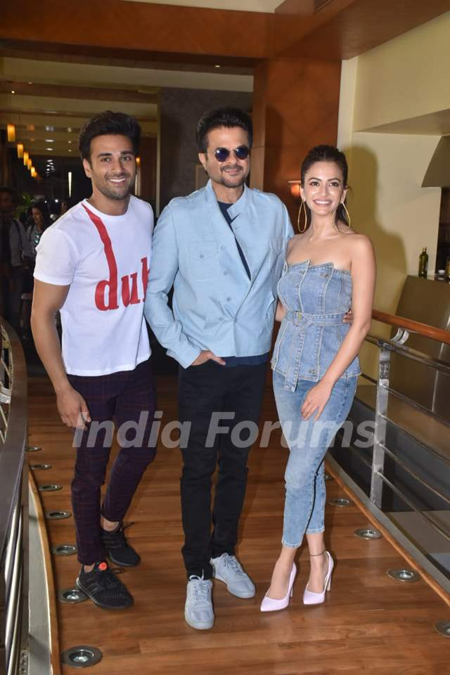Pulkit Samrat, Anil Kapoor and Kriti Kharbanda