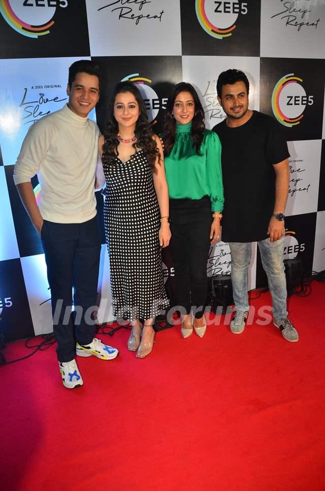 Anshuman Malhotra, Priyal Gor and Raima Sen