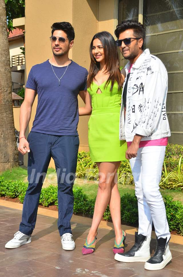 Sidharth Malhotra, Riteish Deshmukh and Rakul Preet Singh