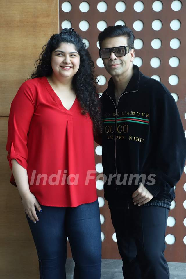 Anshula Kapoor and Karan Johar
