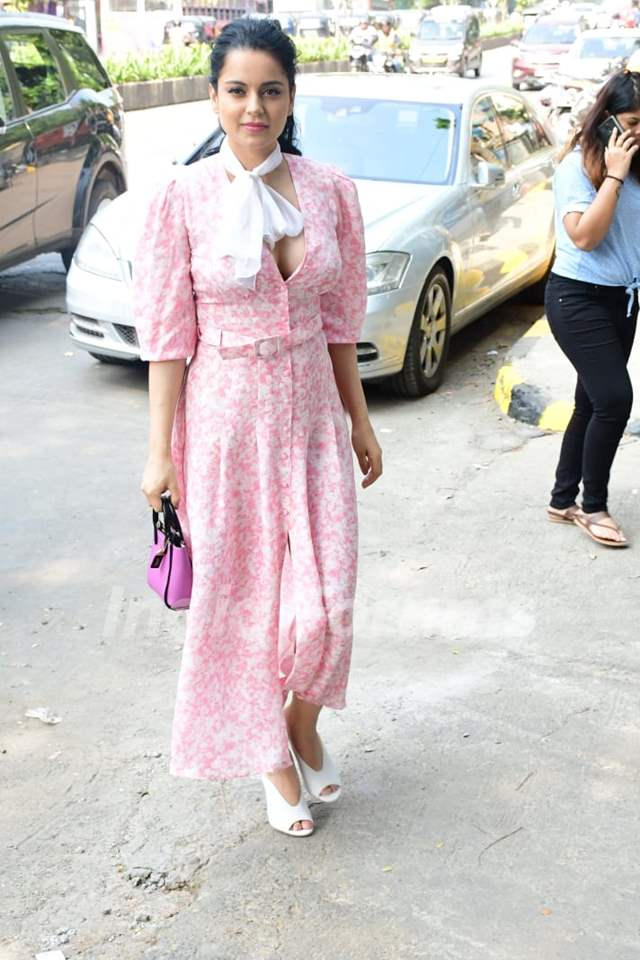 Kangana Ranaut papped around the town