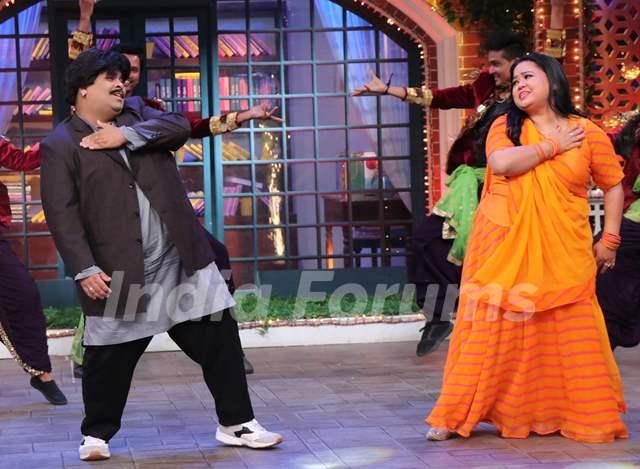 Kiku Sharda and Bharti Singh