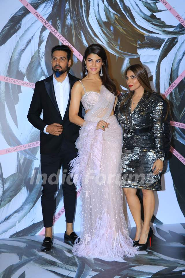 Jacqueline Fernandez at the opening ceremony of Falguni Shane Peacock flagship store