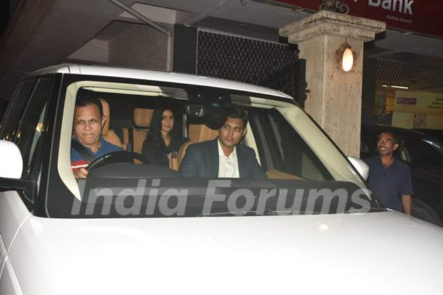 Katrina Kaif spotted around the town