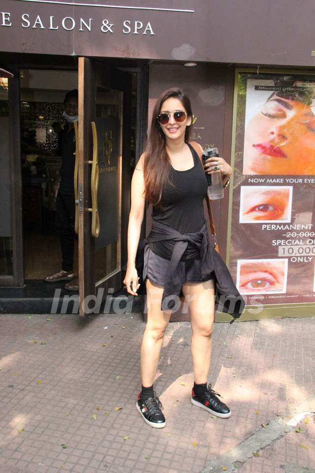 Chahat Khanna papped around the town