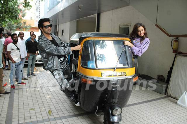 Varun Dhawan and Shraddha Kapoor promote Street Dancer 3D