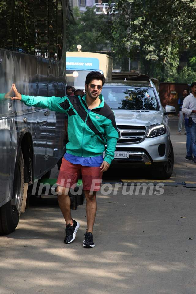 Varun Dhawan snapped around the town