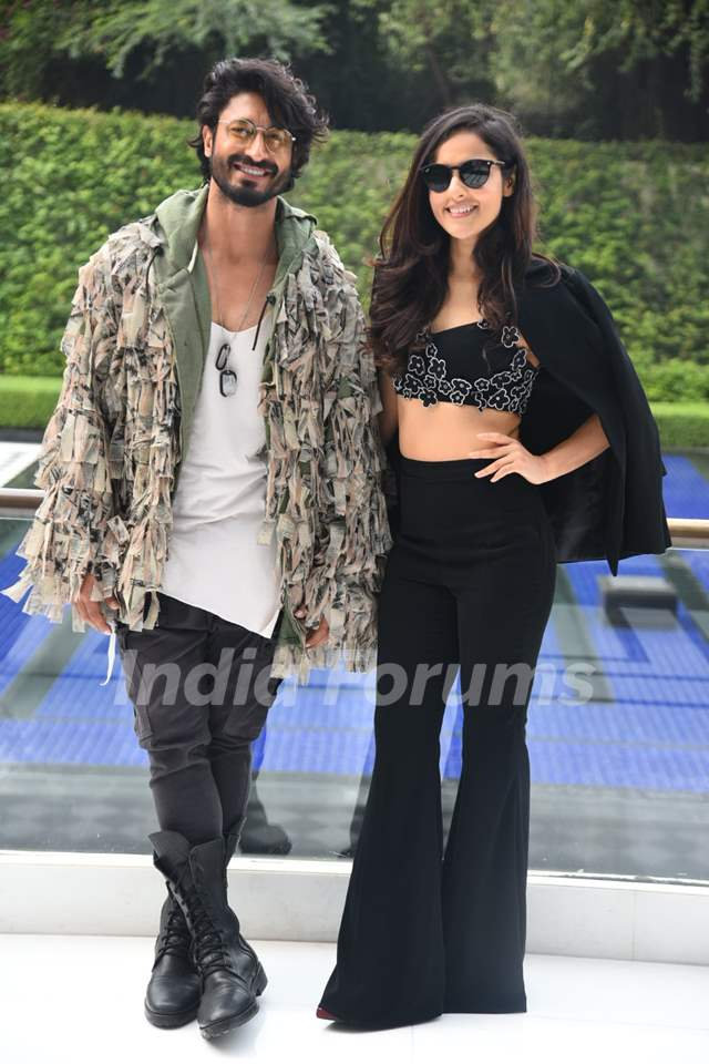 Vidyut Jammwal and Angira Dhar papped during the promotions of Commando 3