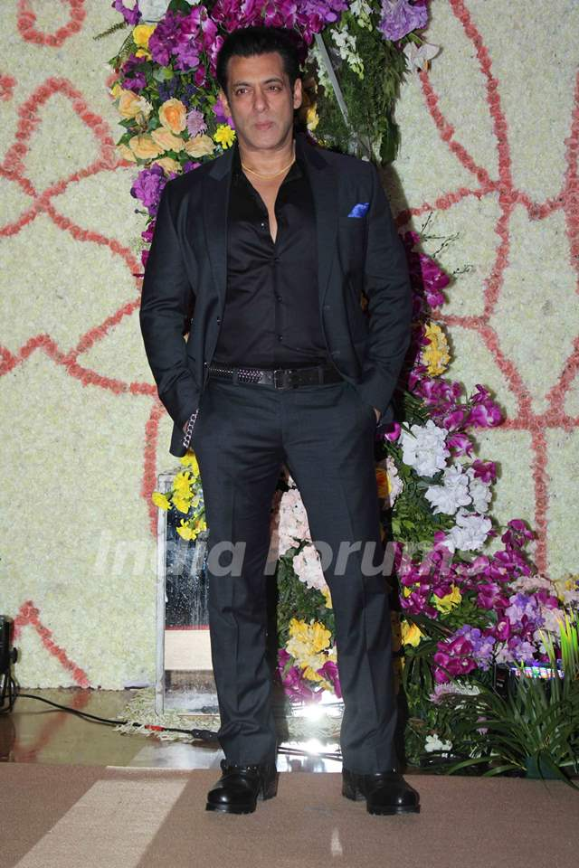 Celebs attend Sooraj Barjatya's son Devansh Barjatya's wedding reception