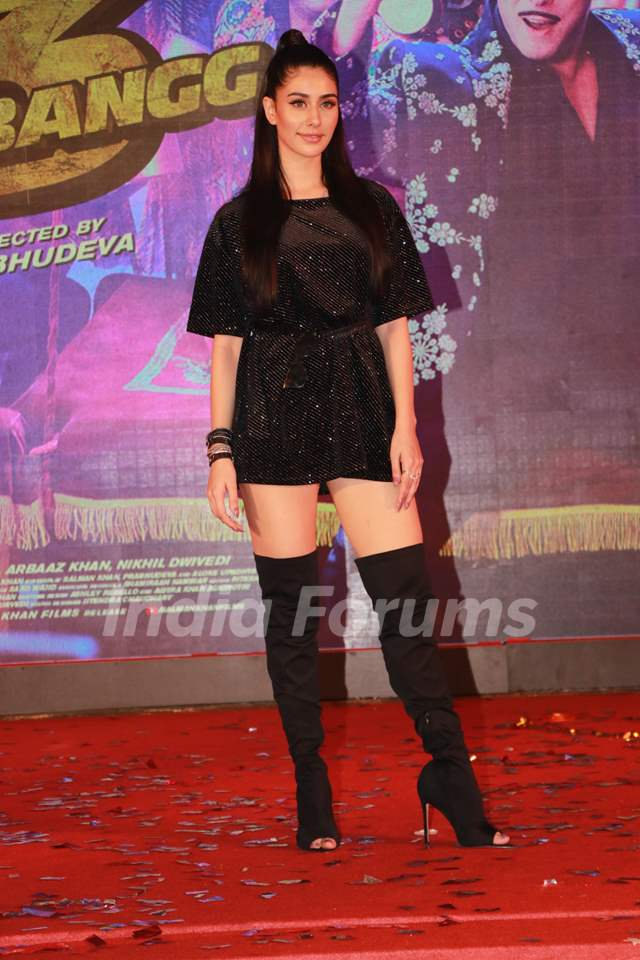 Warina Hussain at the Song launch