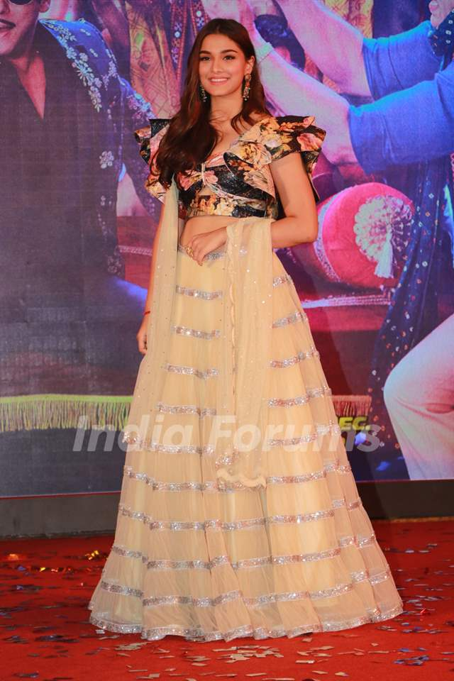 Saiee Manjrekar at the song launch