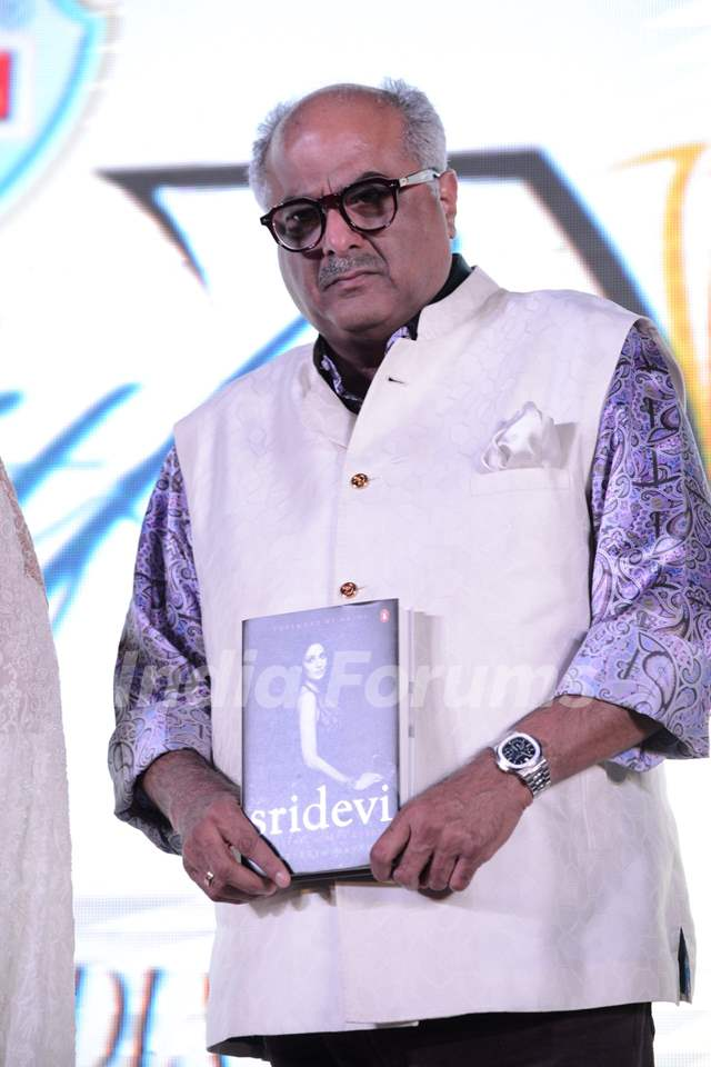 Boney Kapoor at Sridevi's book launch