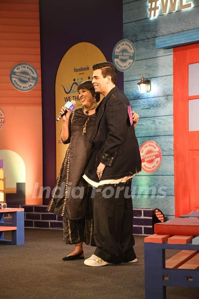 Karan Johar at We The Women