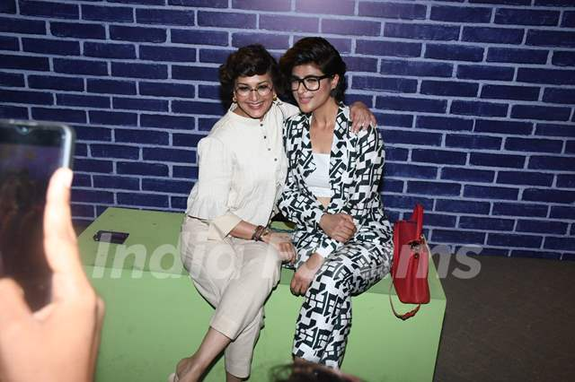 Sonali Bendre and Tahira Kashyap at We The Women