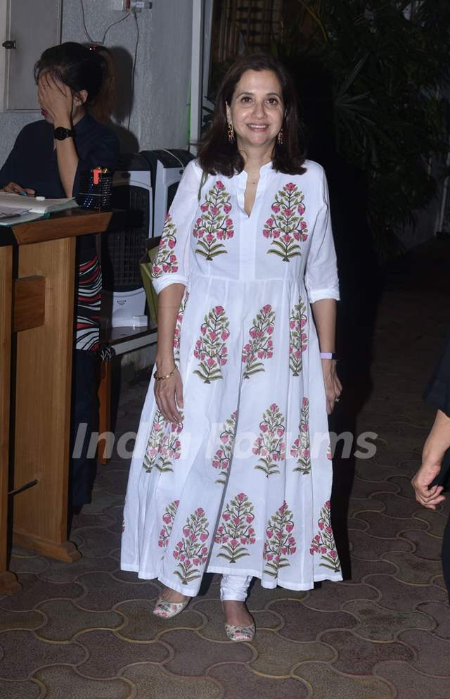 Anupama Chopra snapped around the town