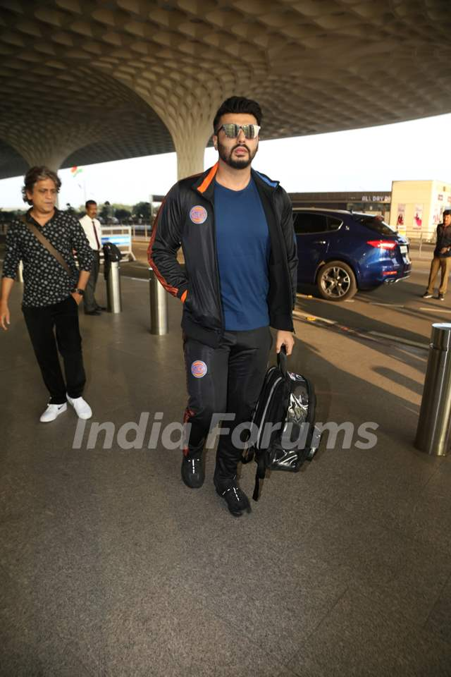 Arjun Kapoor snapped at the airport