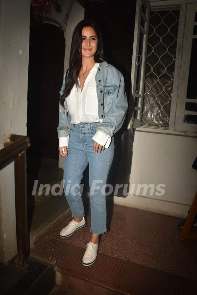 Katrina Kaif snapped around the town