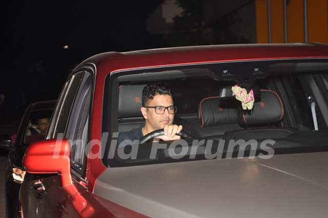 Bhushan Kumar attends the special screening of Pati Patni Aur Woh