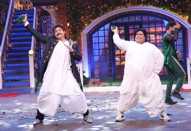 Krushna Abhishek and Kiku Sharda
